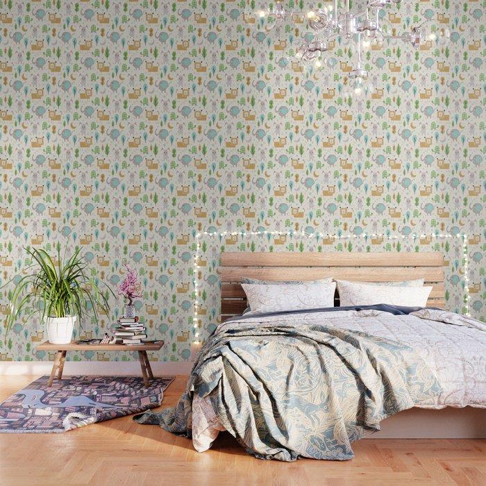 Forest Slumber Wallpaper
