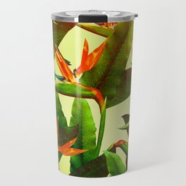 Birds of Paradise Travel Mug