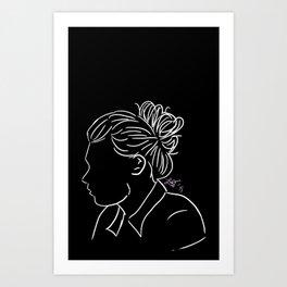 Bun Harry Art Print