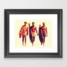 We knew this would be a special day Framed Art Print