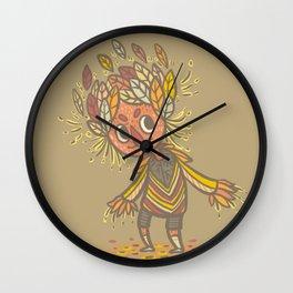 Fall buddy Wall Clock
