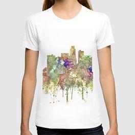 Los Angeles Skyline - Faded Glory T-shirt
