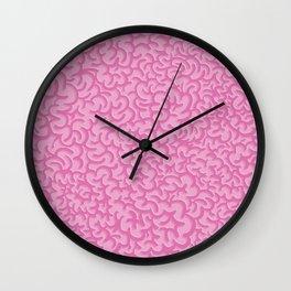 Brain Pattern Wall Clock
