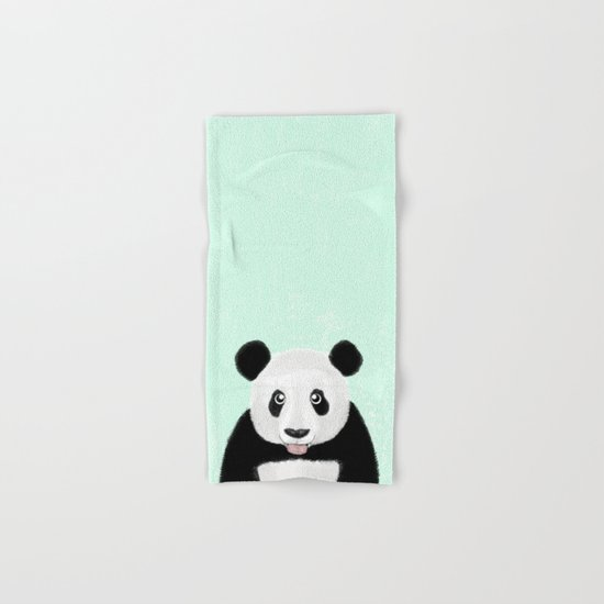 Cute Panda Hand & Bath Towel