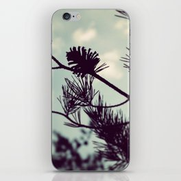 Pinecone Silhouette iPhone Skin