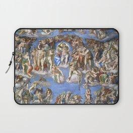 """Michelangelo """"Last Judgment"""" Laptop Sleeve"""