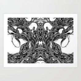 Subconscious Throne of Death  Art Print