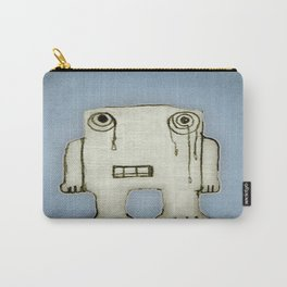 Sad Monster Baby Crying Carry-All Pouch