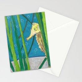 Peekaboo Seahorse Stationery Cards