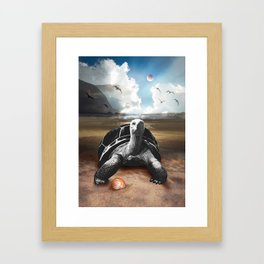 Planet Earth 001 Framed Art Print