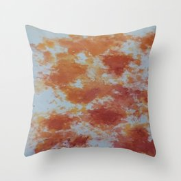 Who Spilled my Paint!! Throw Pillow