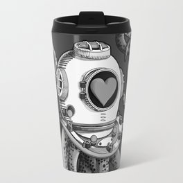 I'm falling in love with you? (Black and white) Travel Mug