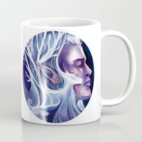 thranduil Mugs featuring Thranduil by MelColley