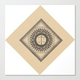 Scales of balance Canvas Print