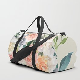 Bouquet With Roses Duffle Bag