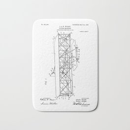 Wright Brothers Patent: Flying Machine Bath Mat