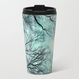 Nature Blazes Before Your Eyes (Mint Embers) Travel Mug