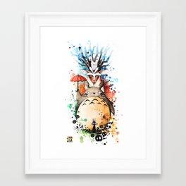 """""""The crossover n°2"""" Framed Art Print"""
