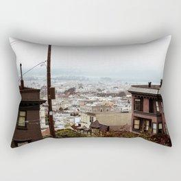 San Francisco Sunday Haze Rectangular Pillow