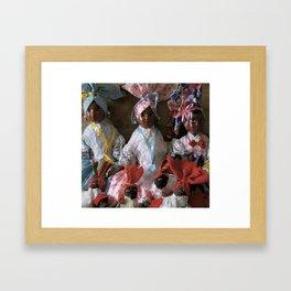 Island Girls Framed Art Print