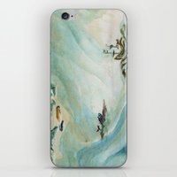 iceland iPhone & iPod Skins featuring Iceland  by Gina Rafaella