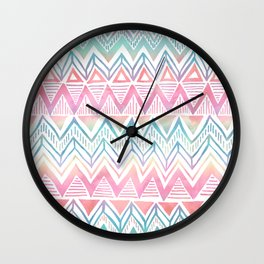Lido Chevron Wall Clock