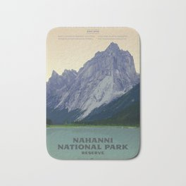 Nahanni National Park Poster Bath Mat