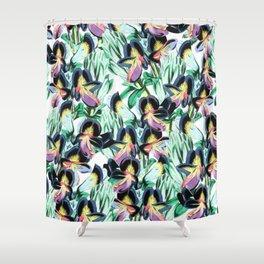Floral Flutter #society6 #decor #buyart Shower Curtain
