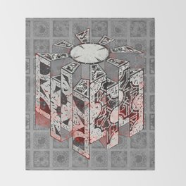 Hellraiser Puzzlebox D Throw Blanket