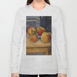 """Paul Cezanne """"Still Life with Apples and Pears"""" Long Sleeve T-shirt"""