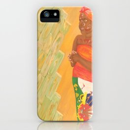 Lil Haiti iPhone Case