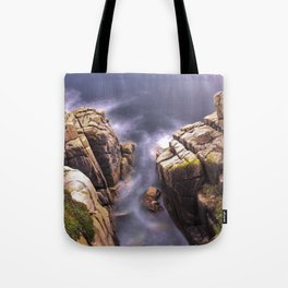 View From The Minack Theatre, Porthcurno, Cornwall, England, United Kingdom Tote Bag