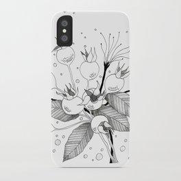 Rosebuds iPhone Case