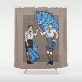An Impromptu Surprise Shower Curtain