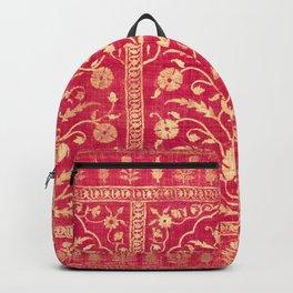 Oriental Rouge Floral Backpack