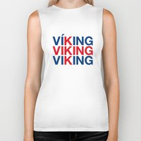 viking Biker Tanks featuring VIKING by eyesblau