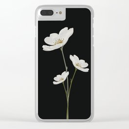 Flowers 5 Clear iPhone Case