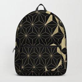 Gold Flower Geo Glam #1 #geometric #decor #art #society6 Backpack