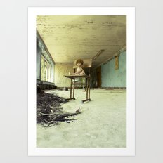 Chernobyl - лялька Art Print