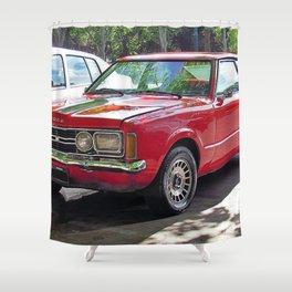 1975 Brazilian Model Only Pony Car Taunus 2300 GT Coupé Shower Curtain