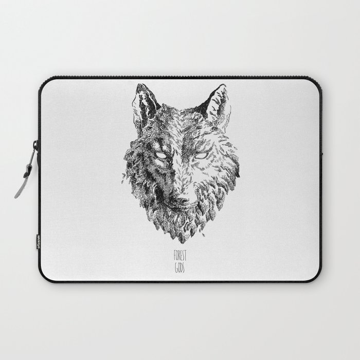 Forest Gods | Wolf Laptop Sleeve
