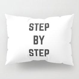 STEP BY STEP Pillow Sham