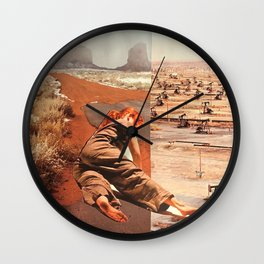 cleansing practice Wall Clock