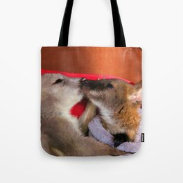 First Love  - Wallaby Babies Tote Bag
