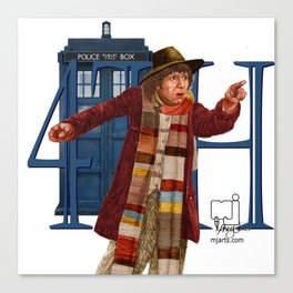4th Doctor Canvas Print