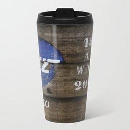 Wood GWZ Metal Travel Mug