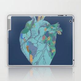 love to travel-world map 2 Laptop & iPad Skin