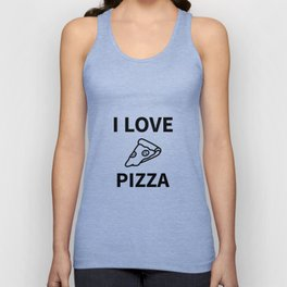 I Love My Pizza Unisex Tank Top