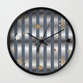 Flakes Wall Clock