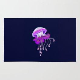 Ruffled Jellyfish Rug